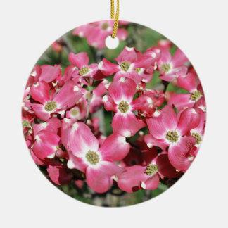 Dogwood Tree in Bloom Ceramic Ornament