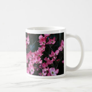 Dogwood Tree's Pink Flower Classic White Coffee Mug