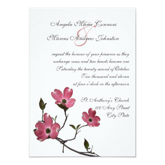 Dogwood Wedding Invitation