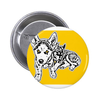 Dogwwod Puppies Pinback Buttons