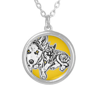 Dogwwod Puppies Necklace