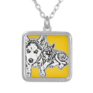Dogwwod Puppies Pendant