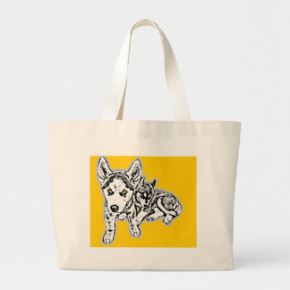 Dogwwod Puppies Tote Bag