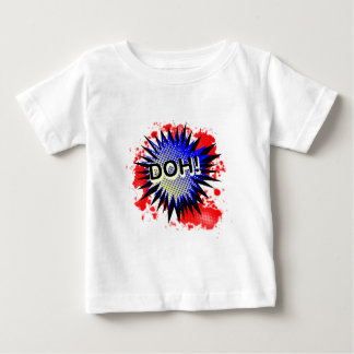 Doh Comic Exclamation Baby T-Shirt