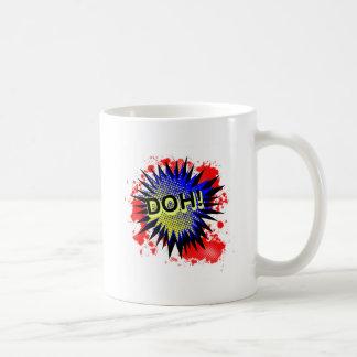 Doh Comic Exclamation Coffee Mug