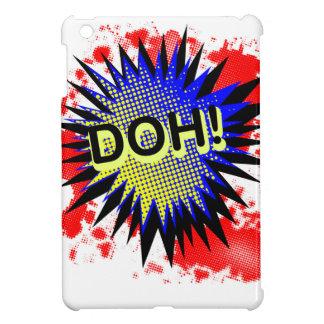 Doh Comic Exclamation iPad Mini Covers