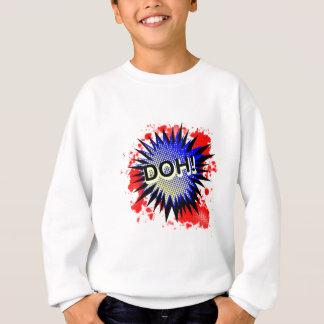 Doh Comic Exclamation Sweatshirt