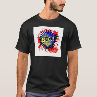 Doh Comic Exclamation T-Shirt