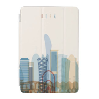 Doha, Qatar | City Skyline iPad Mini Cover