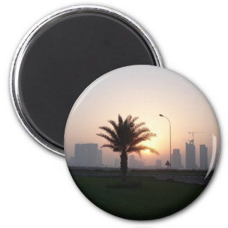 Doha sunrise magnet