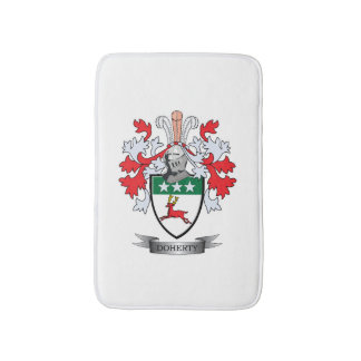 Doherty Coat of Arms Bath Mat