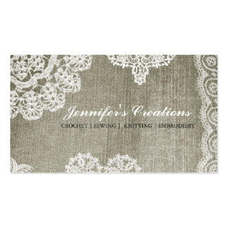 Doily Pack Of Standard Business Cards