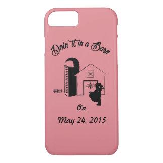 """Doin' It In A Barn"" IPhone Case"