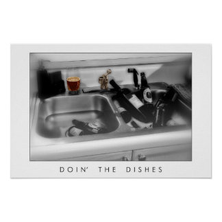 Doin' the Dishes Poster