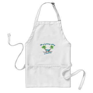 Doing Nothing Standard Apron