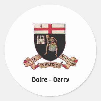 Doire (Derry) - Sticker