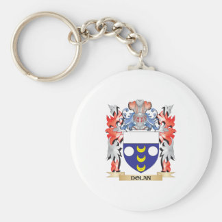 Dolan Coat of Arms - Family Crest Keychain