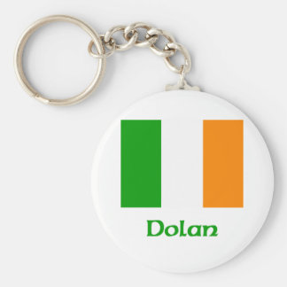Dolan Irish Flag Keychain