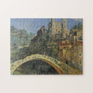 Dolceacqua Monet Fine Art Jigsaw Puzzle
