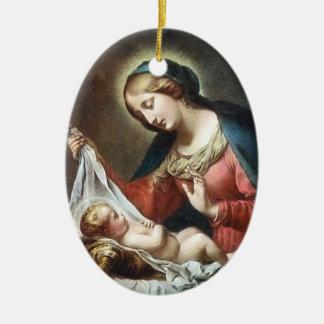 Dolci Madonna, Italy Ceramic Ornament