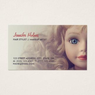Doll Beauty Hair Salon business card