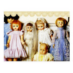 Doll Collection Postcard