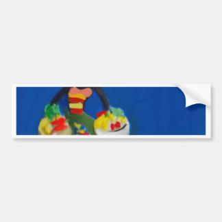 Doll dressed in beautiful costume bumper sticker