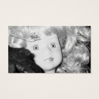 Doll Head in the Garden Business Card