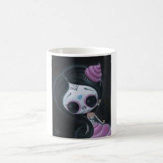 doll of the dead coffee mug