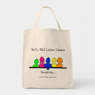 DOLL Shopping Tote Bag