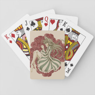 Doll to dream of playing cards