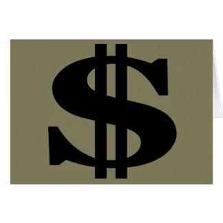 Dollar Card