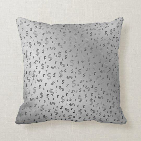 dollar, colour, colourful + pattern, house + throw pillow