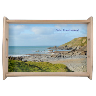 Dollar Cove Cornwall England Poldark Location Serving Tray