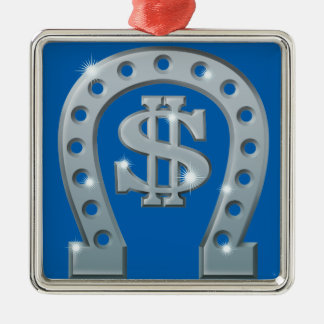 Dollar emblem metal ornament