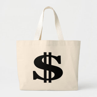 Dollar Large Tote Bag