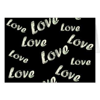 Dollar love patter card