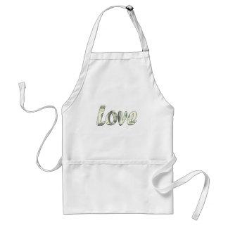 Dollar love standard apron