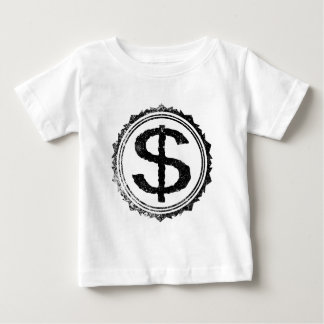 Dollar Rubber Stamp Baby T-Shirt