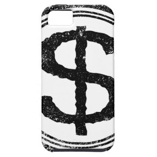 Dollar Rubber Stamp iPhone 5 Case