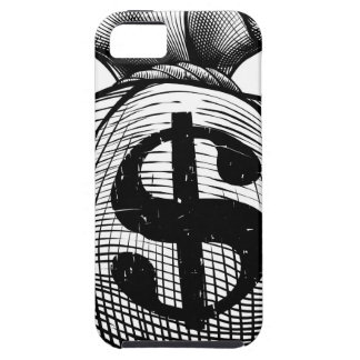 Dollar Sign Burlap Sack or Money Bag iPhone 5 Cases