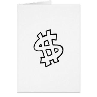 Dollar Sign Cards