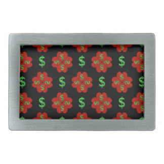 Dollar Sign Graphic Pattern Belt Buckle