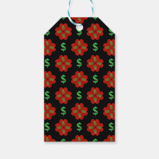 Dollar Sign Graphic Pattern Gift Tags