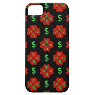 Dollar Sign Graphic Pattern iPhone 5 Cases