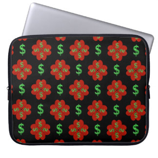 Dollar Sign Graphic Pattern Laptop Sleeve