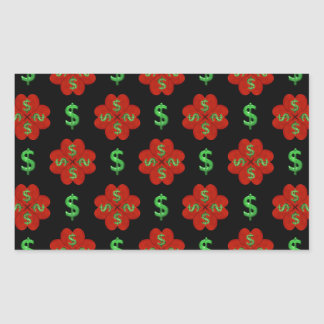 Dollar Sign Graphic Pattern Sticker