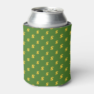 Dollar sign money pattern can cooler