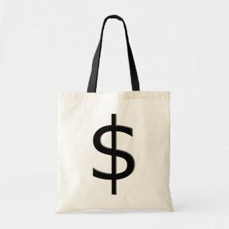 Dollar Sign Tote Bag