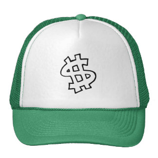 Dollar Sign Trucker Hat